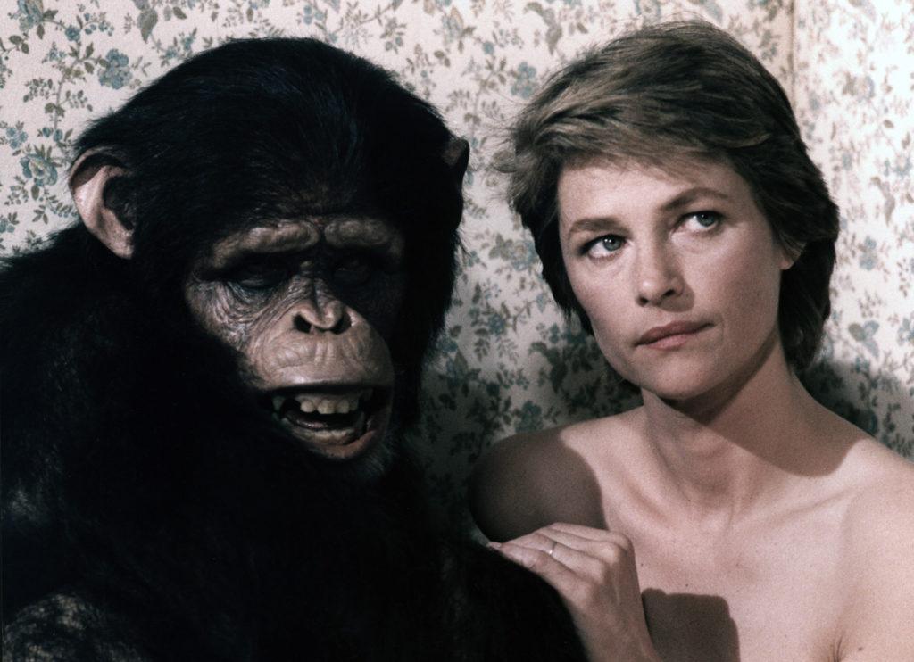 妻の愛人はチンパンジー?大島渚の異色作「マックス、モン・アムール」