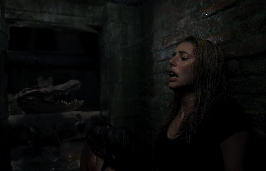 CRL FF 006RC3 1024x659 - ホラー映画|予想を超えるワニの迫力と災害が襲う『クロール -凶暴領域-』