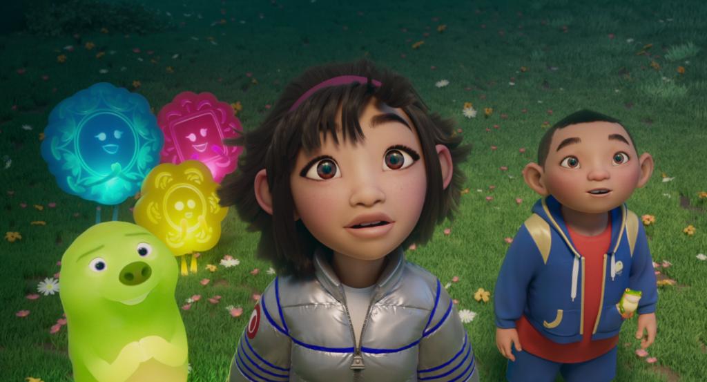 日本語版エンド・クレジット・ソングは幾田りらが歌う!Netflix映画『フェイフェイと月の冒険』