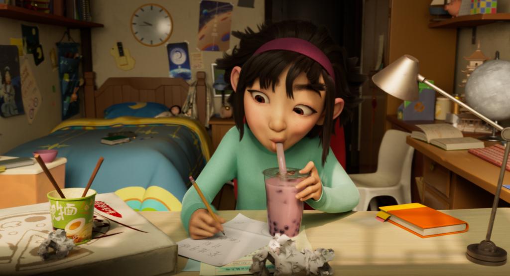 c93166d5a301a899581b90bdd9de36dc 1024x554 - 日本語版エンド・クレジット・ソングは幾田りらが歌う!Netflix映画『フェイフェイと月の冒険』